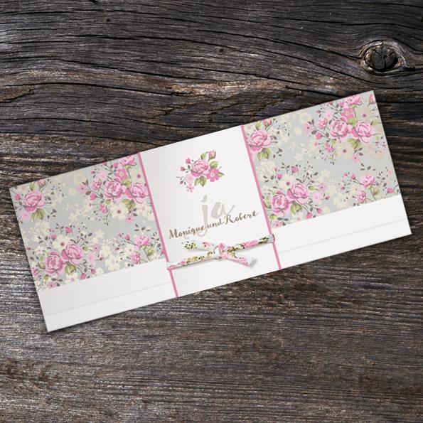 Romantische Einladungskarten Zur Hochzeit