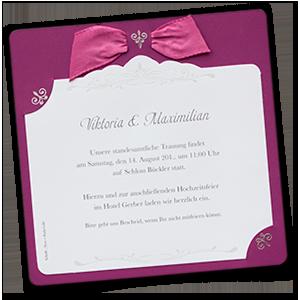 Hochzeitseinladungen In Bordeaux / Weinrot